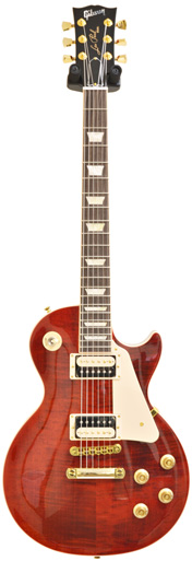Gibson Les Paul Traditional Pro II 50s Merlot Gold
