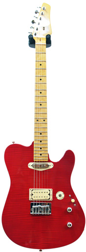buzz feiten guitars blues pro flame maple top trans red 000333. Black Bedroom Furniture Sets. Home Design Ideas
