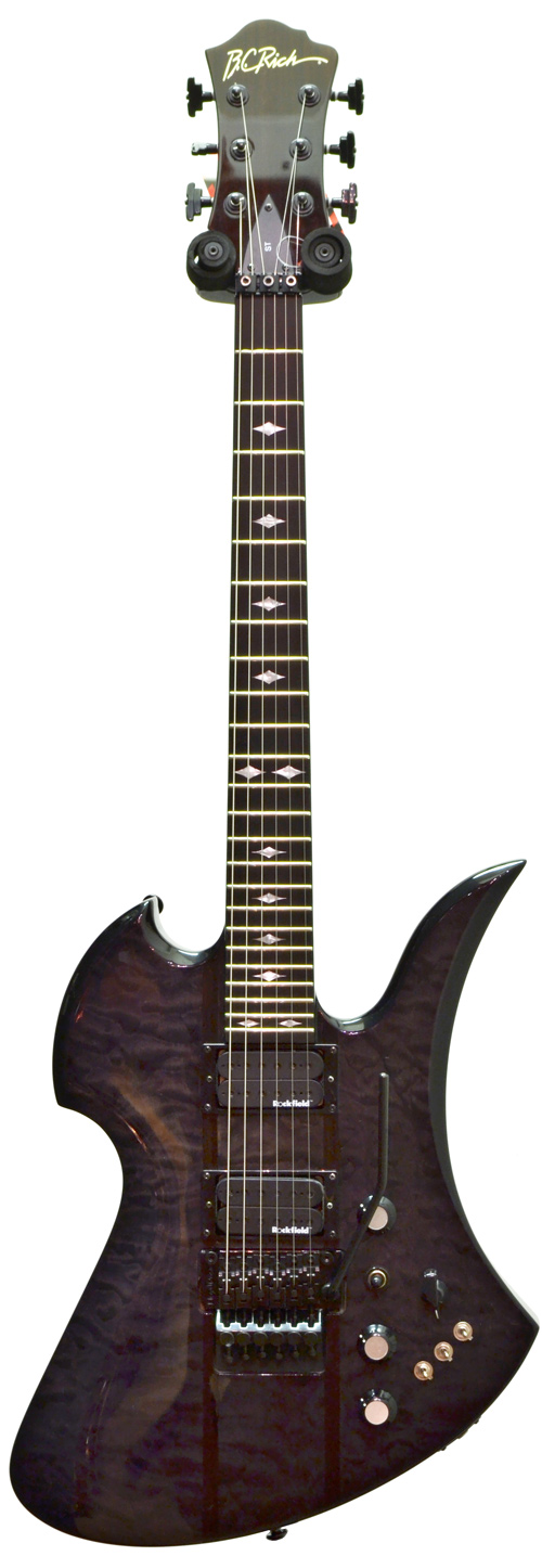 BC Rich Mockingbird ST Trans Black (Pre-Owned)