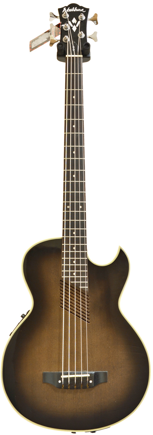 washburn ab 25 acoustic bass 5 string pre owned. Black Bedroom Furniture Sets. Home Design Ideas