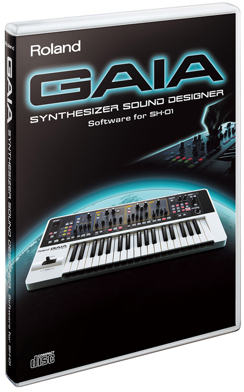 Roland gaia sound design software for Music studio design software