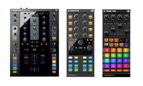 Native Instruments Traktor Z2, Kontrol X1 MKII and Kontrol F1 Bundle