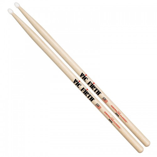 vic firth vf 5an 5a nylon tip drum sticks. Black Bedroom Furniture Sets. Home Design Ideas