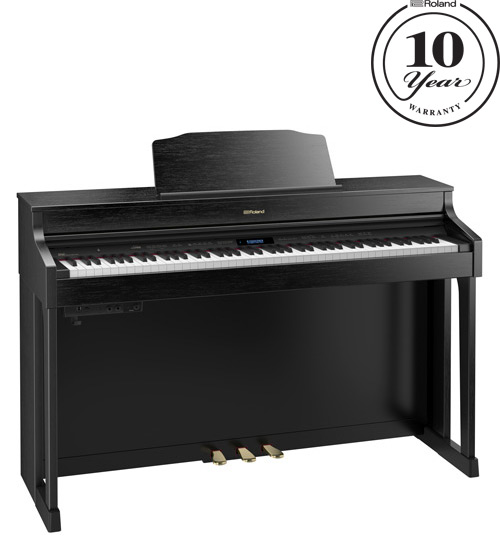 Roland HP-603CB Contemporary Black Digital Piano
