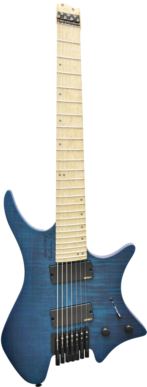 Strandberg boden os 7 blue birdseye maple for Strandberg boden 7