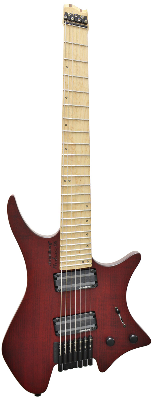 Strandberg boden os 7 lace red birdseye maple for Strandberg boden 7