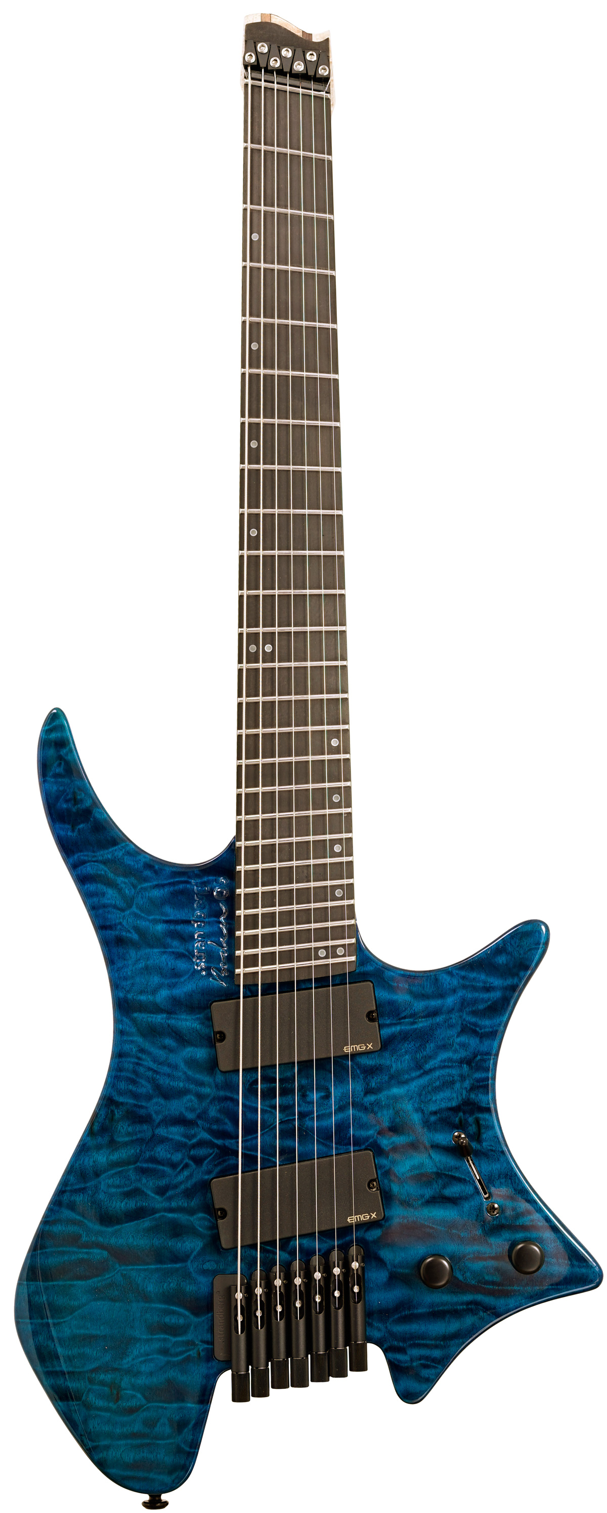 strandberg boden os 7 emg limited edition blue quilt maple. Black Bedroom Furniture Sets. Home Design Ideas