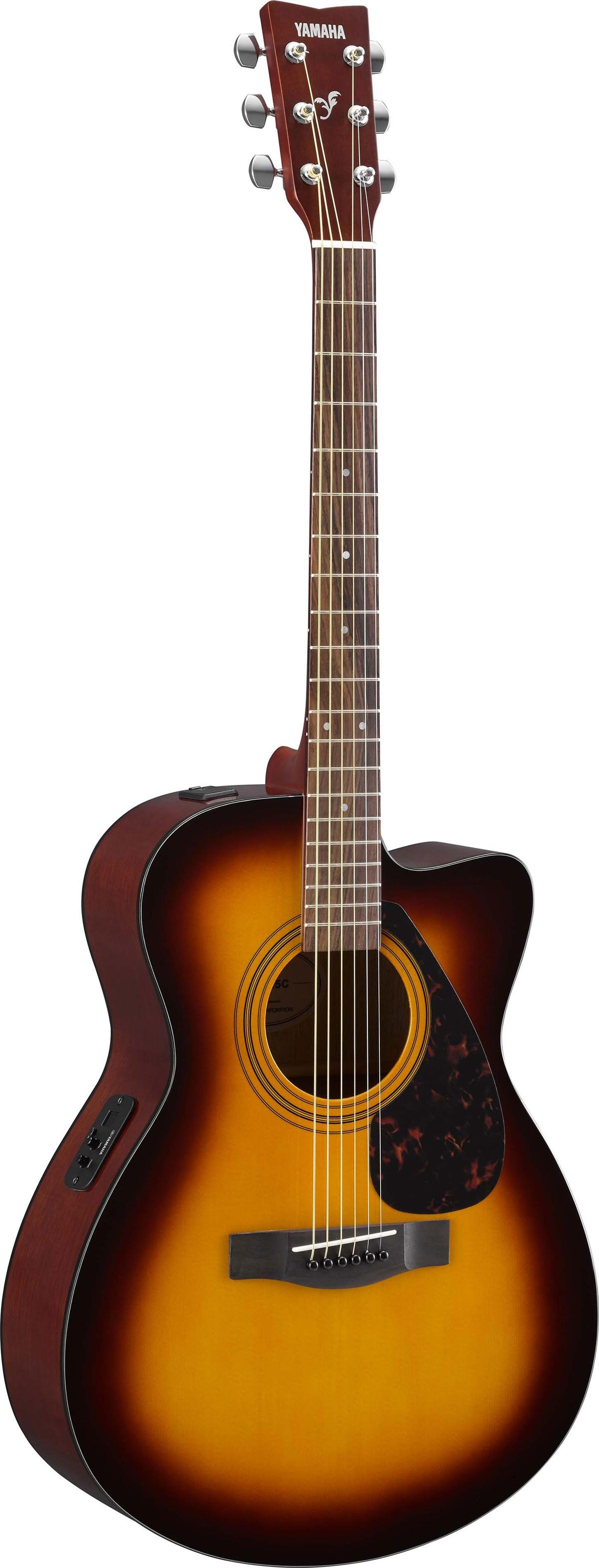 Yamaha fsx315 sunburst for Yamaha guitar brands