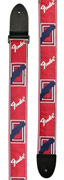 Fender Strap 2 Inch  Monogrammed Red/ White/ Blue