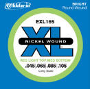 D'Addario EXL165 Bass String Set 45-105