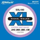 D'Addario EXL190 Nickel Wound Bass 040-100