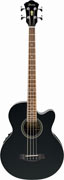 Ibanez AEB8E-BK Acoustic Bass Black