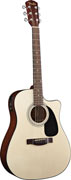 Fender CD-60CE Natural Cutaway