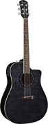 Fender T-Bucket 300SCE Trans Black Quilt (End Of Line)