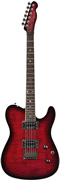 Fender Custom Tele FMT HH Black Cherry Burst