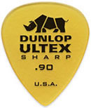 Dunlop 433P.90 Ultex Sharp 6/Play Pack Picks