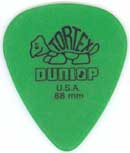 Dunlop 418P.88 Tortex Standard 12/Play Pack Picks