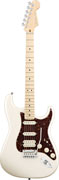 Fender American Deluxe Strat HSS MN Olympic Pearl White