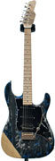 Tyler Studio Elite HD Black'n'Blue Shmear Ash Body MN 10053