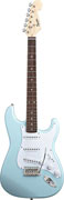 Squier Bullet Strat Daphne Blue with Trem
