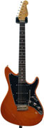 Grosh ElectraJet Custom #741 Sunburst Orange Pearl Metallic Alder S/S/H RW  (Ex-Demo Mark on Body)
