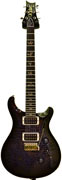 PRS Custom 24 Charcoal Burst 10 Top Pattern Thin #11173418