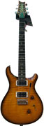 PRS Custom 24 Amber Black 10 Top Pattern Reg Neck V12 #173633
