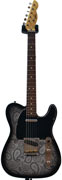 LSL Instruments T Bone Black Paisley/Vintage Cream Alder RW 'Scottie'