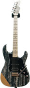 Tyler Studio Elite HD-P Black Shmear Matt Hollow Alder MN No Boost #11203