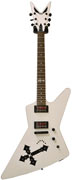 Dean   DGK BM Z MWH Brett Michaels Signature Z Metallic White