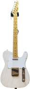 LSL Instruments TB SA VC T Bone Swamp Ash Vintage Cream White Guard Fat Neck 'Ina'