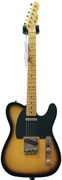 LSL Instruments TB SP SB T Bone Sugar Pine Sunburst Black Guard Fat Neck 'Ani'