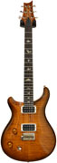 PRS Custom 22 'Lefty' LTD 10 Top Amber Black V12 Finish Wide Fat #178754