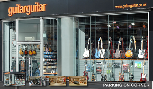 instrument store london: