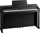 Roland HP-302 Satin Black Digital Piano