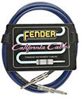 Fender 10' California Cable Lake Placid Blue