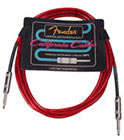 Fender 10' California Cable Candy Apple Red