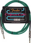 Fender 10' California Cable Surf Green