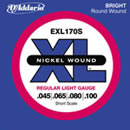 D'Addario EXL170S 45-100 Short Scale Nickel Wound
