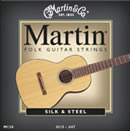 Martin M130 Silk and Steel Acoustic Strings