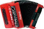 Roland FR-18RD V-Accordion Red