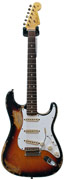 Fender Custom Shop Strat 1963 Heavy Relic Faded 3 Tone Sunburst