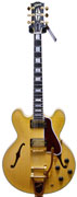 Gibson Limited Edition ES-355 Antique Natural Curly Maple with Bigsby #CS153659