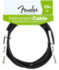 Fender Cable - 10ft/3m Instrument Performance Black