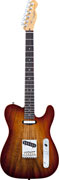 Fender American Select Tele Carved Koa Top RW Sienna Edge Burst