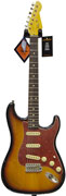 LSL Instruments ST AL 3SB R Saticoy 3 Tone Sunburst Alder RW Tortoise Guard 'Harriet'