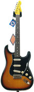 LSL Instruments ST AL 3SB R Saticoy 3 Tone Sunburst Alder RW Black Guard'Lolita'