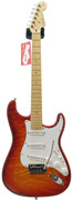 Fender Custom Shop Custom Deluxe Strat MN Faded Cherry Burst (2012) #8185