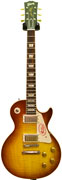 Gibson 1958 Les Paul Reissue Ice Tea Lightly Figured Chambered VOS HB369C #CR82004