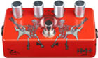 ZVEX Woolly Mammoth Namm Custom O007 'Skeleton Axe Attack'